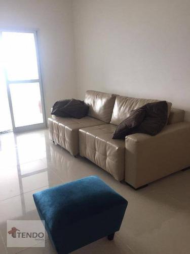 Imagem 1 de 23 de Apartamento 124 M² - Venda - 3 Dormitórios - 3 Suítes - Vila Tupi - Praia Grande/sp - Ap2243