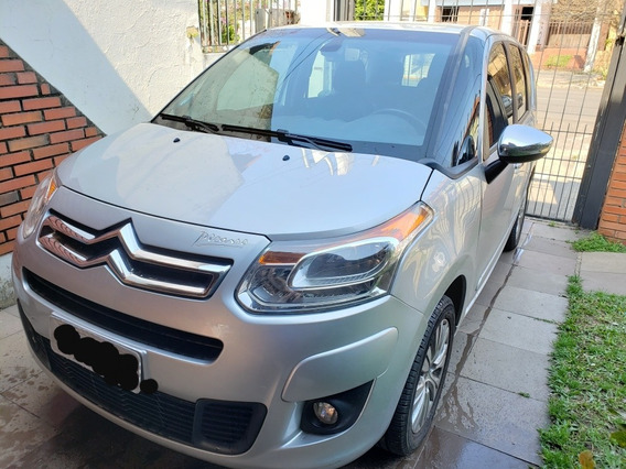 Citroën C3 Picasso 1.6 16v Exclusive Flex 5p 2014