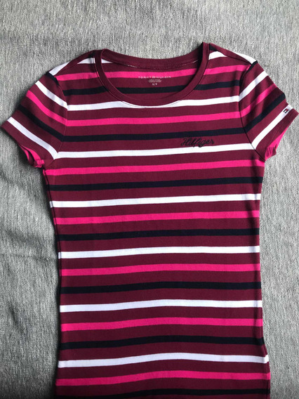 Remera Mujer Tommy Hilfiger. Temporada Actual Usa