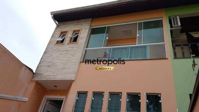 Sobrado Com 3 Dormitórios À Venda, 240 M² Por R$ 900.000 - Parque Das Nações - Santo André/sp - So0446