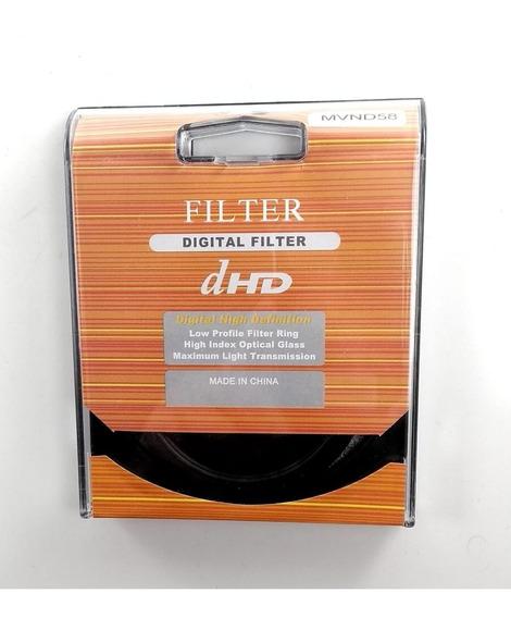 Filtro Nd Variável 58mm 2-400 Greika