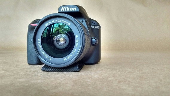 Nikon D3400 + Filtro Polarizador + Controle Remoto Tudo Novo