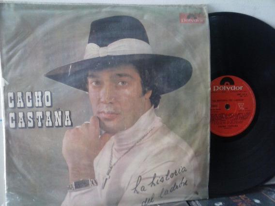 Lp Impor-tango Cacho Castaña, La Historia Del Ladron - Usado