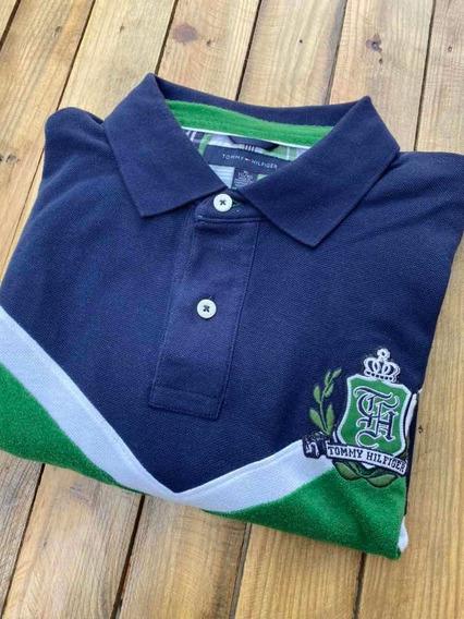 Tommy Hilfiger Camisa Polo Para Caballero Talla Xl
