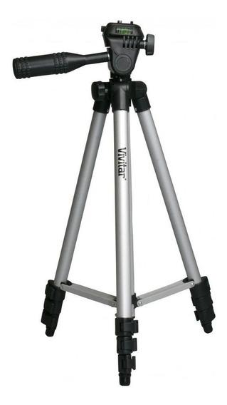 Tripé Base TriPod Para Câmera / Filmadora 1,27m - Vivvpt1250