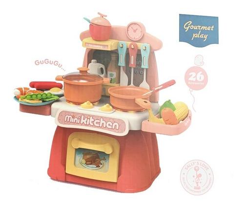 Imagen 1 de 2 de Sally's Love Cocina Con Accesorios Luces Sonido +3años