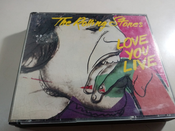 The Rolling Stones - Love You Live - Cd Doble Fatbox , Japon