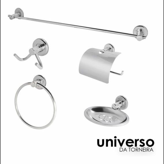 Kit Para Banheiro Stander 05 Peças