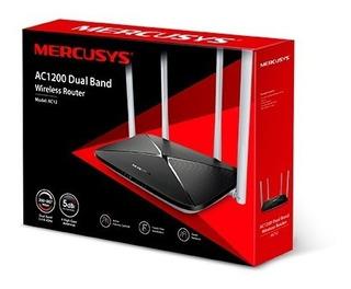 Router 4 Antenas 1.167 Mbps Doble Banda Mercusys Ac12 Tplink