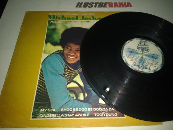 Lp Os Grandes Sucessos De Michael Jackson Vol. 2 Montown