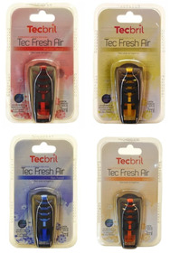 Kit Aromatizante Automotivo 4x Tecbril Tec Fresh Air
