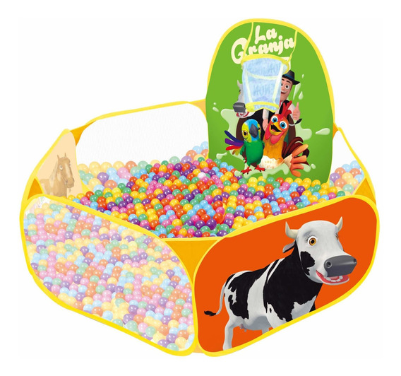 Pelotero Granja De Zenón. Incluye 30 Pelotas. Zippy Toys