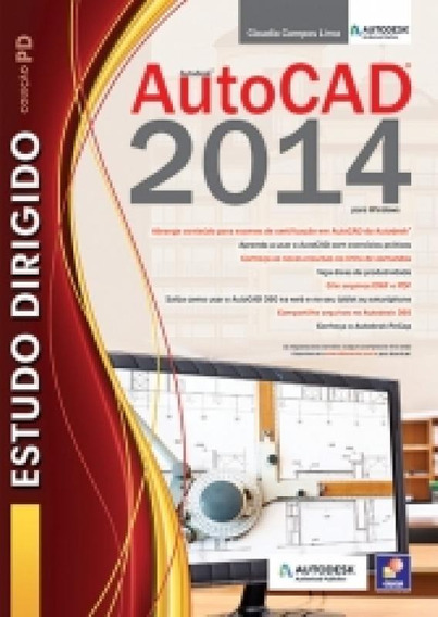 Estudo Dirigido De Autocad 2014 Para Windows - Erica