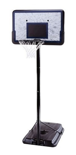 Imagen 1 de 3 de Sistema De Baloncesto Portátil 44 Pulgadas Lifetime 1221