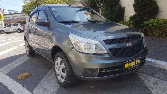 Chevrolet Agile Lt 1.4 8v Flex 4p 2011 Cinza Completo