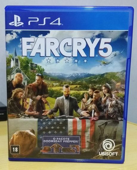 Far Cry 5 Ps4 Mídia Física Em Pt-br Semi-novo