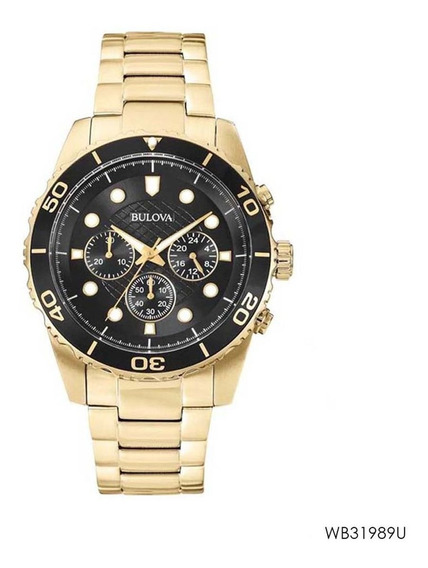 Relógio Masculino Bulova Dourado Wb31989u