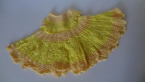 Vestido De Crochê Bebê