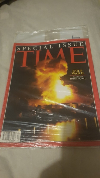 Revista Time Magazine Special Issue Gulf War Ii