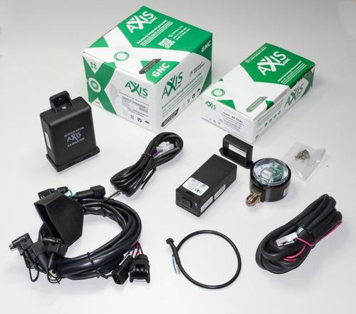 Combo Llave Conm. Ax -dual, Más Emulador 3 En 1, Axis Gnc.