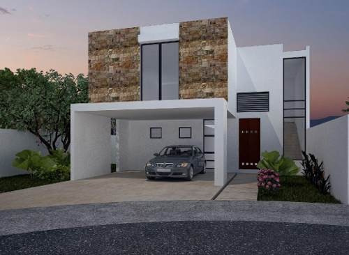 Casa En Venta,privada Parque Central A Min De Plaza Altabrisa,cholul,mérida,yucatán