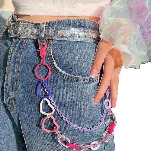 Cadena Para Pantalon Moda Kpop Tumblr Rock Harajuku Mercado Libre