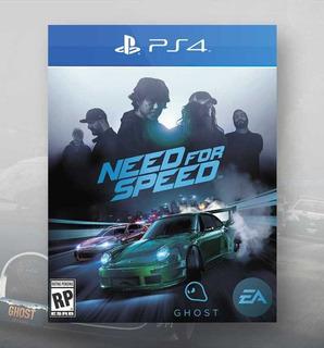 Need For Speed Nfs Ps4 - Español - Juga Con Tu Usuario - Ya!