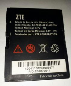 Bateria Zte Modelo Li3708t42p3h453756 3.7v 800mah Original