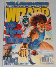 Wizard N.138 Mar 2003 Em Inglês Alex Ross Thundercats Prévia