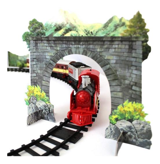 Locomotiva Trem Controle Remoto Ferrorama Infantil
