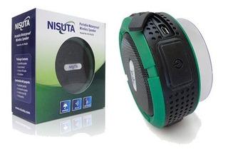 Parlante Bluetooth Inalambrico Nisuta Ns-pa62b 3w Waterproof