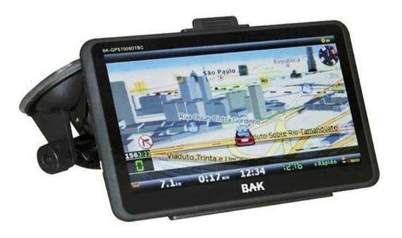 Gps Bak Bk-gps7009 Tela7.0 Tv Digital Bluetooth Original