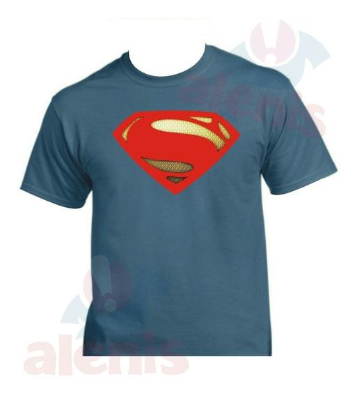 Playera Superman Liga De La Justicia Personalizada