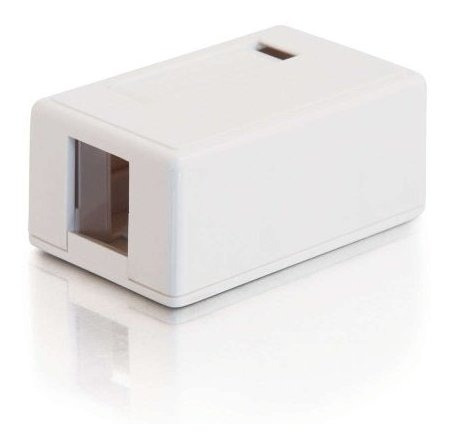 C2g 03831 Caja De Montaje En Superficie Keystone Jack De 1 P