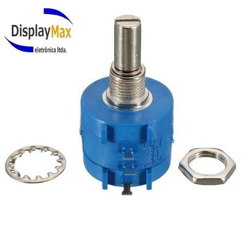 Potenciômetro Multivoltas 50k 3590s Kit C/10 Pçs Original