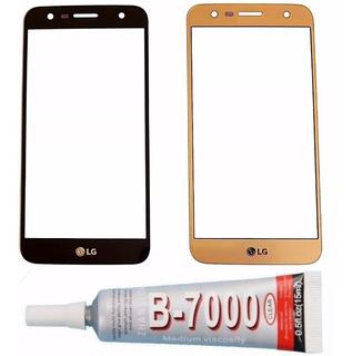 Lente Vidro Tela S/ Touch Lg K10 Power M320 2017 + B7000