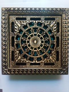 Coladera De Baño Artistico Antigua Antiguo Arabe 12cm