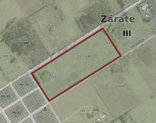 Imagen 1 de 3 de Fracción En Venta En Zona De Expansión Urbana De Zarate