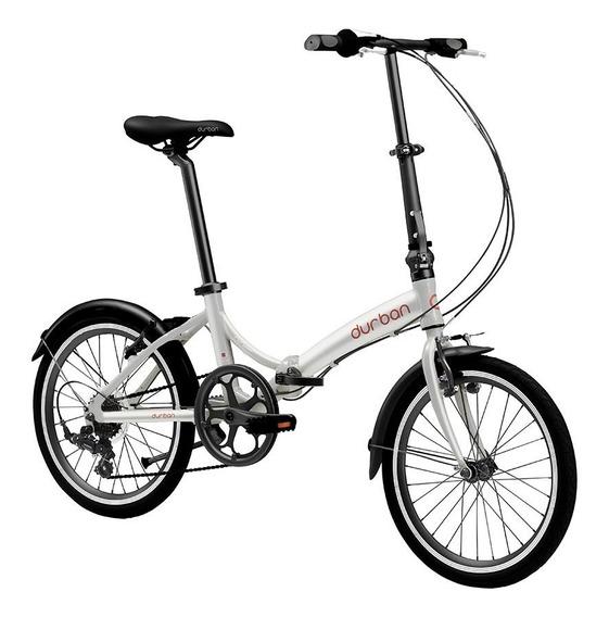 Bicicleta Dobrável Portátil Leve Durban Rio Aro 20 Nautika