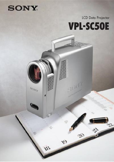 Sony Vpl-sc50u Lcd Projector