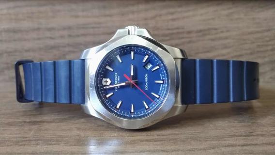 Relogio Victorinox Swiss Army Inox - Azul 241688-1