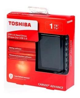 Disco Duro Externo Toshiba 1tb Gratis Protector Portátil