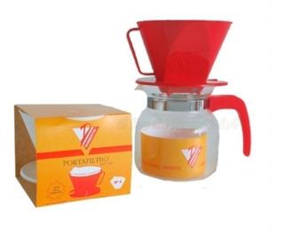Kit Domestic Cafetera Filtros Y Jarra