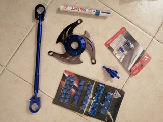 Aacesorios Color Azul Para Bws 125