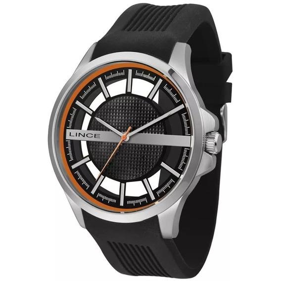 Relógio Lince Masculino Ref: Mrp4580s P1px Casual Prateado