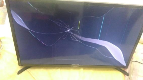 Tela Quebrada !! Tv Led 32 Samsung