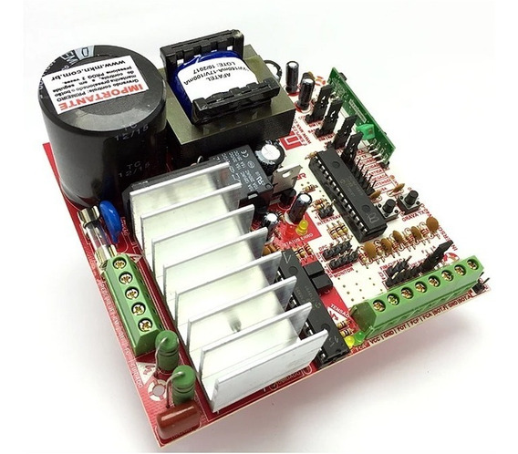 Central Portão Eletrônico Mkn Inversora Aceleradora W40i