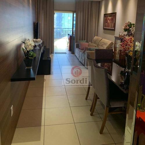 Apartamento À Venda, 110 M² Por R$ 595.000,00 - Jardim Botânico - Ribeirão Preto/sp - Ap3193
