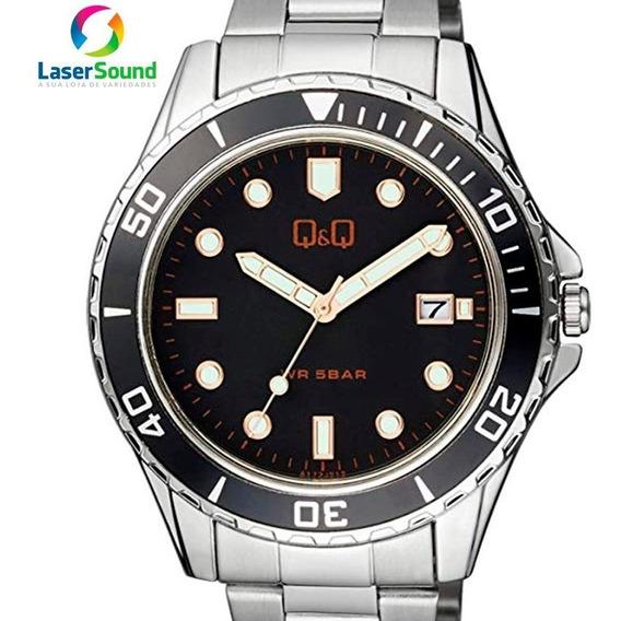 Relógio Q&q By Japan Masculino A172j212y C/ Garantia E Nf