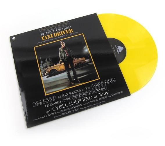 Soundtrack Taxi Driver Vinilo Lp Color Nuevo En Stock